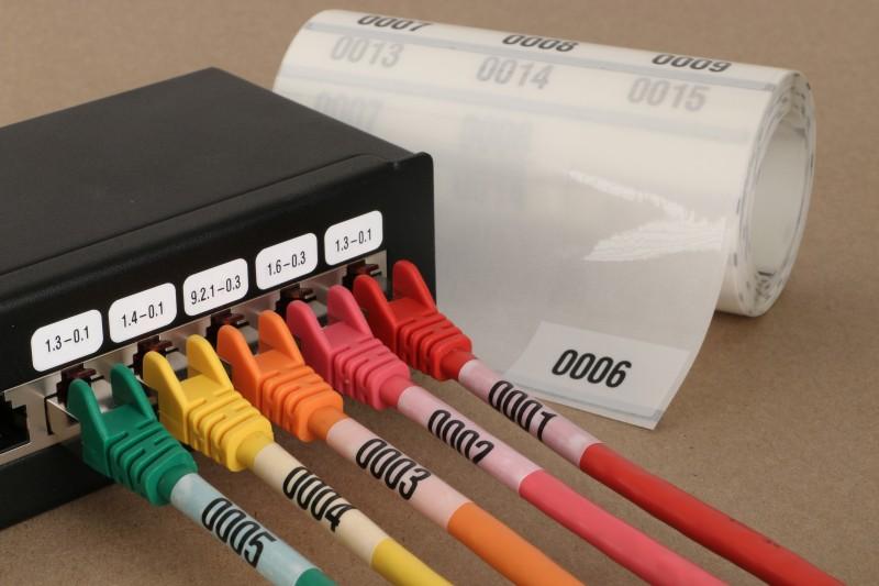 edv-etiketten für kabel