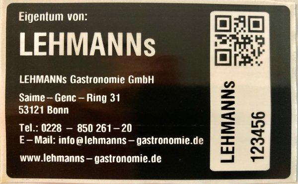Sonderetiketten Lehmann-Gastronomie