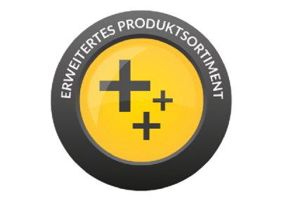 Erweitertes Produktsortiment