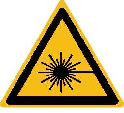 """Produktbild:Warnhinweise Material:Folie gelb Größe:Kantenlänge 25mm Kopfzeile:""""ohne"""" Barcode:ohne Stellenanzahl:ohne Ausführung:1 Etikett pro Nummer Etiketten je Rolle:30"""