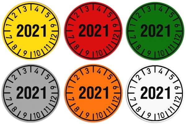 """Anwendung: Datum Prüfetikett Material:Polyethylen-Folie Gelb Größe:Ø 30mm Kopfzeile:""""Ihr Wunschtext"""" Barcode:ohne Stellenanzahl:ohne Ausführung:1 Etikette pro Nummer Menge:1000"""