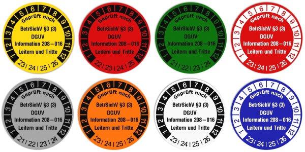 Anwendung: Datum Prüfetikett Material:Polyethylen-Folie Gelb Größe:Ø 30mm Nächste Prüfung:2023 Barcode:ohne Stellenanzahl:ohne Ausführung:1 Etikette pro Nummer Menge:1000