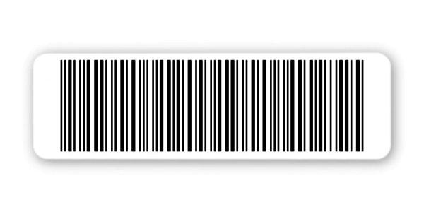 """Sonderetiketten Material:Polyethylen-Folie hochglänzend weiß Größe:50x15mm Kopfzeile:""""ohne"""" Barcode:2a5 interleaved Stellenanzahl:22-stellig Sonderetikett:Ohne Klartext Menge:1000"""