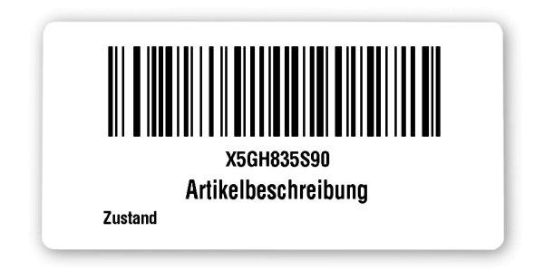 FNSKU Etiketten Material:Polyethylen-Folie hochglänzend weiß Größe:68x34mm Vorgabeliste:Mit Vorgabeliste Barcode:128B Stellenanzahl:10-stellig Ausführung:1 Etikette pro Nummer Menge:500